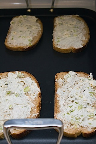 Buffalo Chicken Grilled Cheese Bread Blue Cheese Spread.jpg