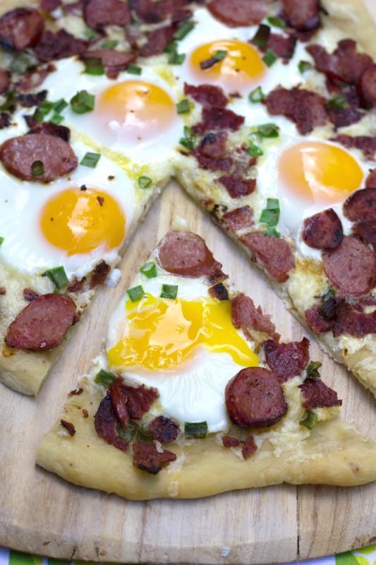 Butterball Meat Lovers' Breakfast Pizza