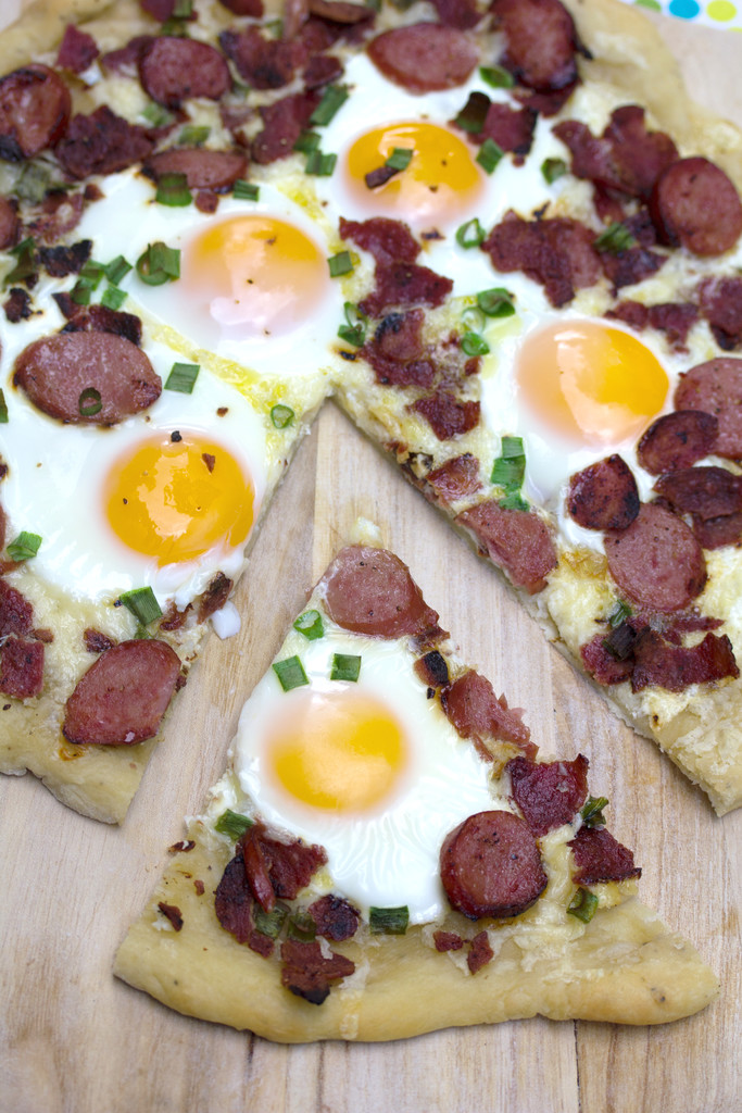 Butterball Meat Lovers' Breakfast Pizza 9