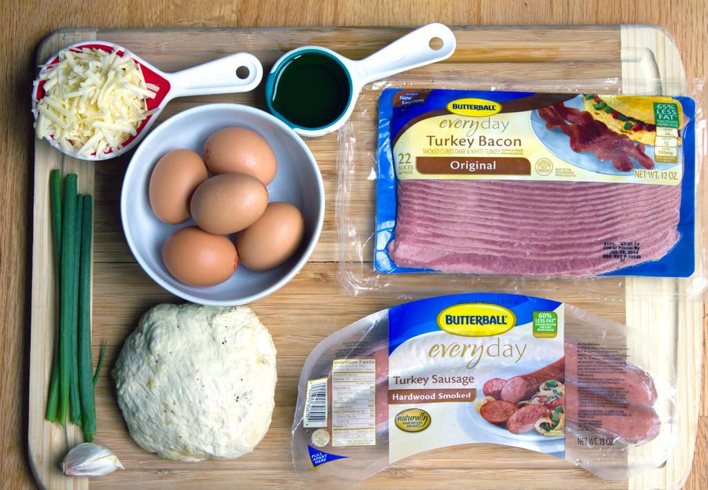 Butterball Meat Lovers' Breakfast Pizza Ingredients