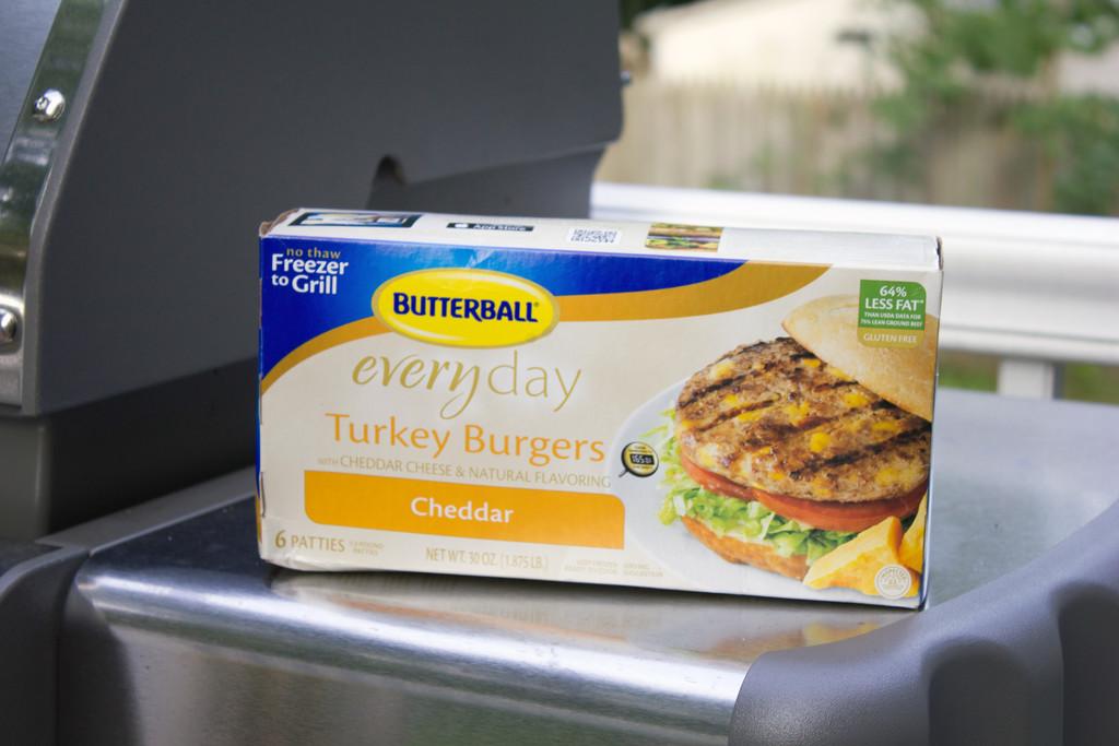 Butterball Turkey Burgers 1