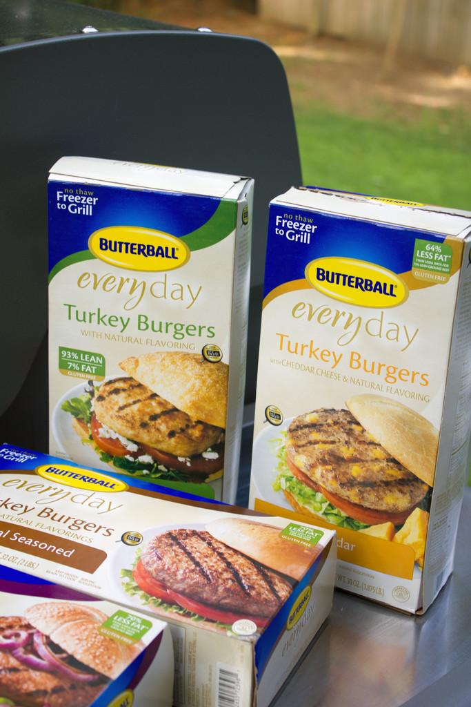 Butterball Turkey Burgers 4