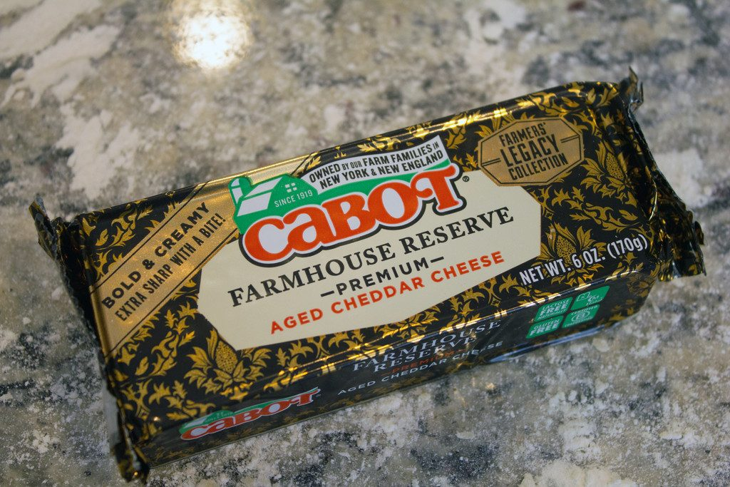 Cabot Farmhouse Reserve Cheese | wearenotmartha.com