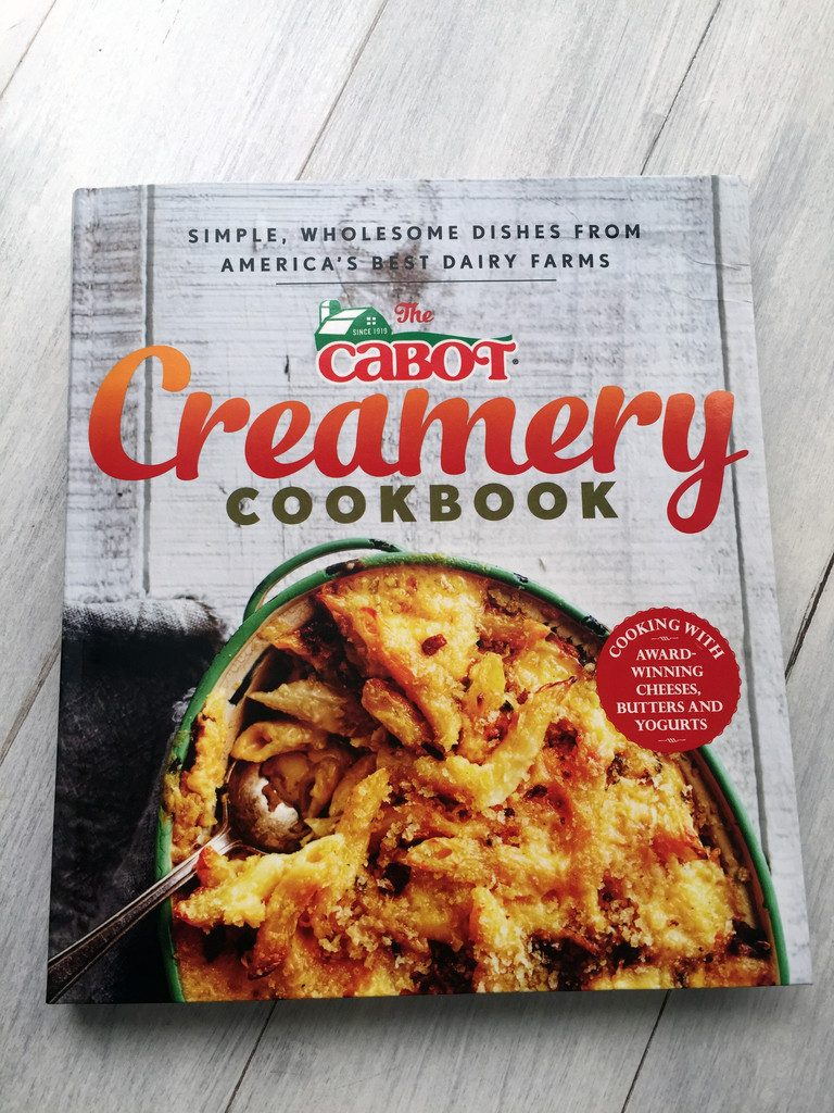 Cabot Creamery Cookbook | wearenotmartha.com