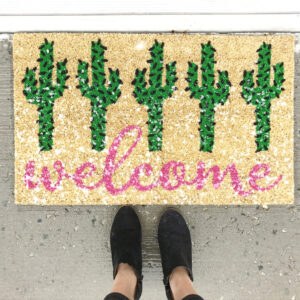 Target Welcome Mat | wearenotmartha.com