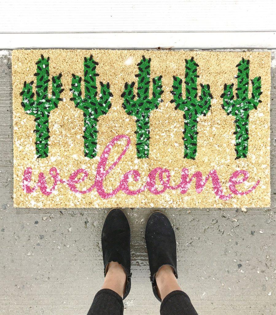 Target Welcome Mat | wearenotmartha.com
