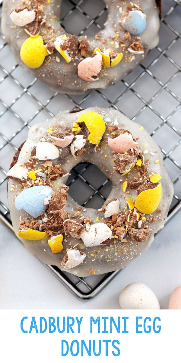 Cadbury Mini Egg Donuts