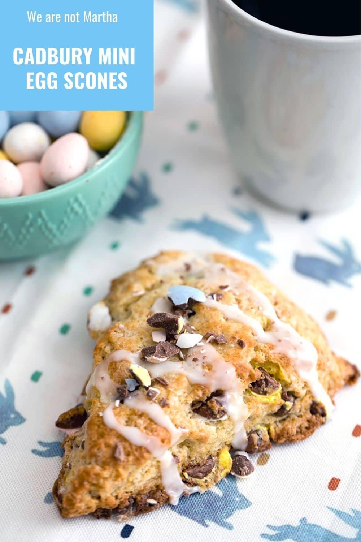 Cadbury Mini Egg Scones