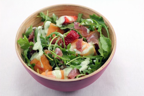 Cantaloupe-Arugula-Salad-with-Prosciutto-and-Mint-Yogurt-Dressing-7.jpg