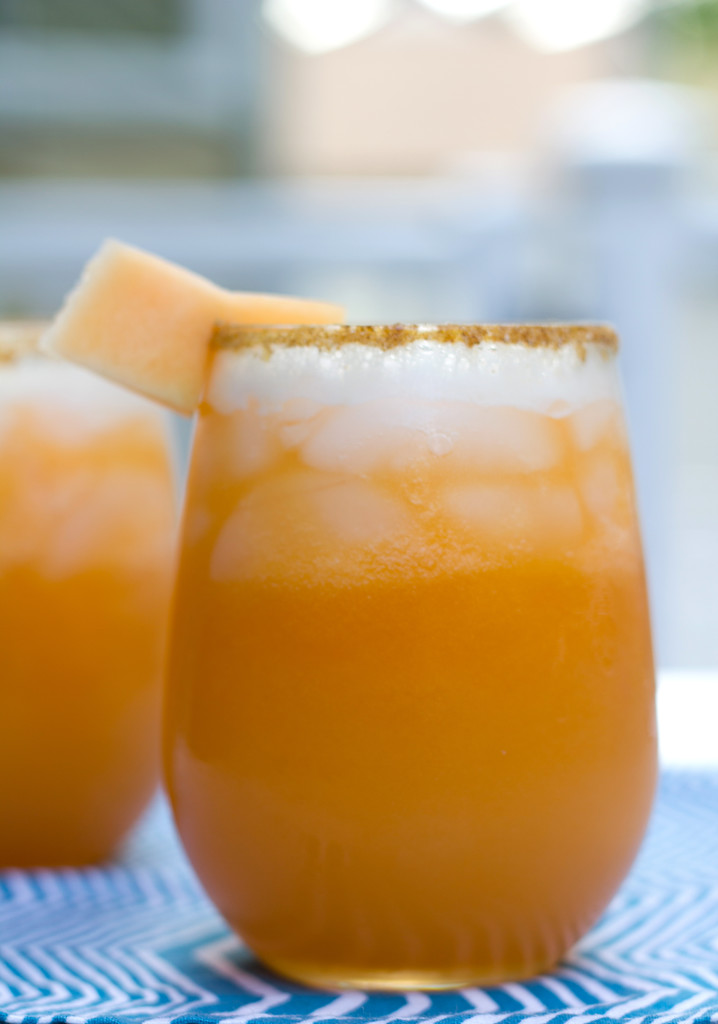 Cantaloupe Lime Margarita 3