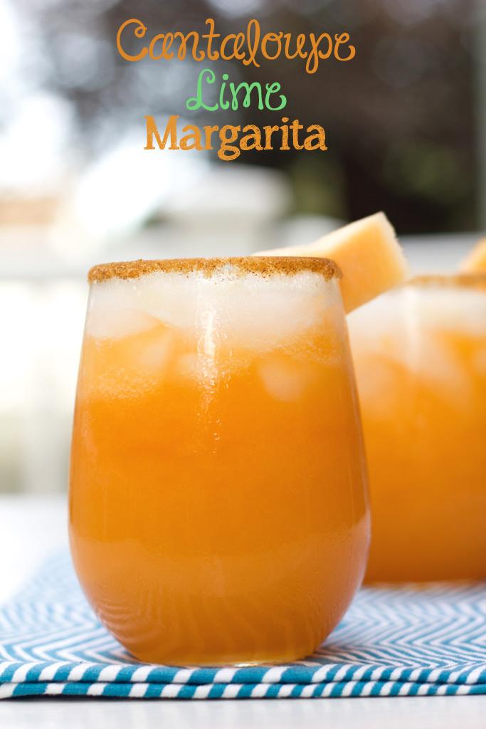 Cantaloupe Lime Margarita