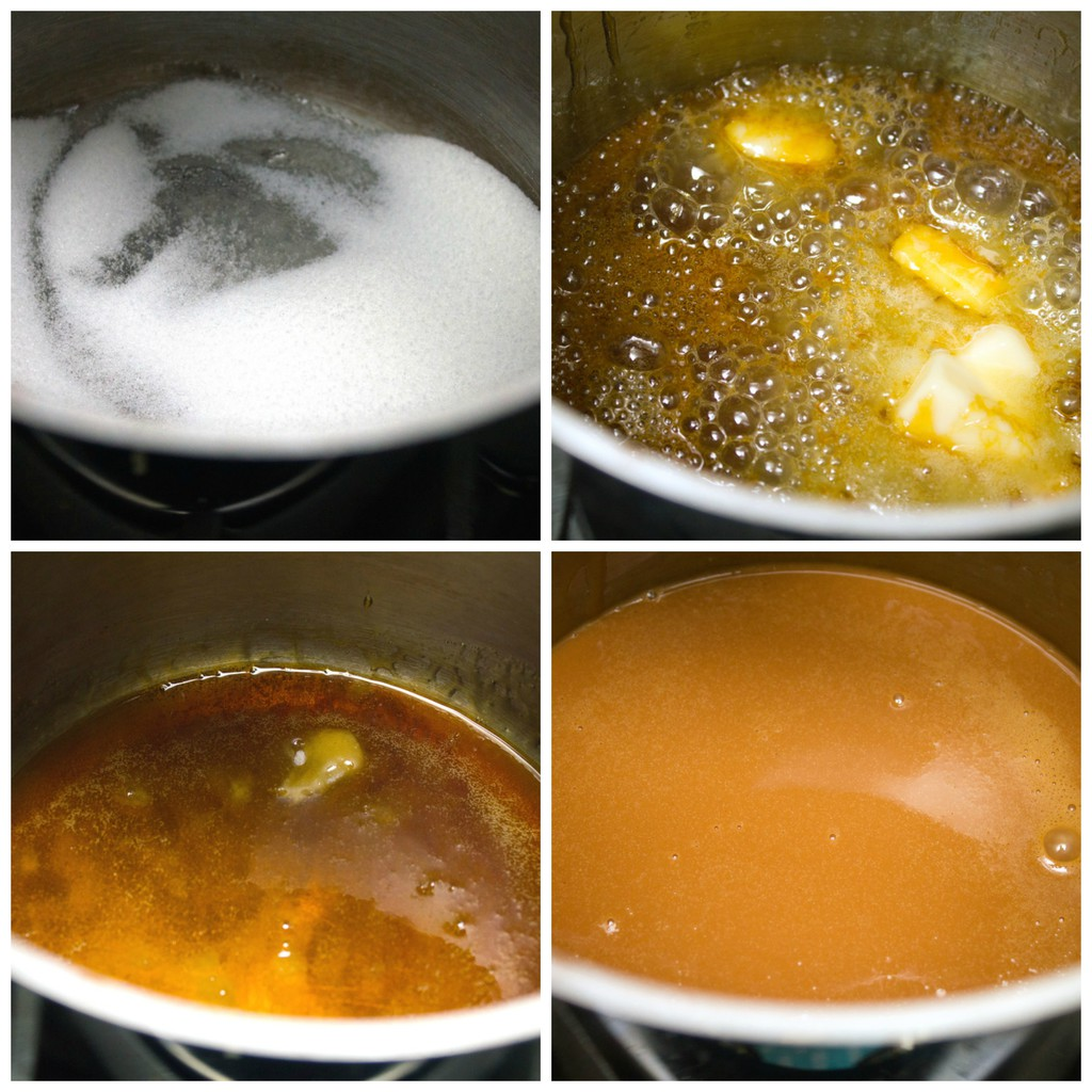 Caramel-Sauce-Making