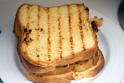 Caramelized Banana and Peanut Butter Sandwich Grilled Bread.jpg