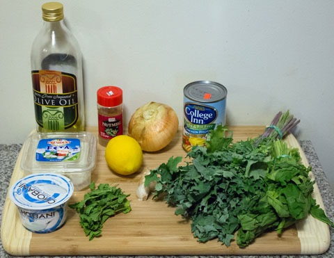 how to use arugula in soup