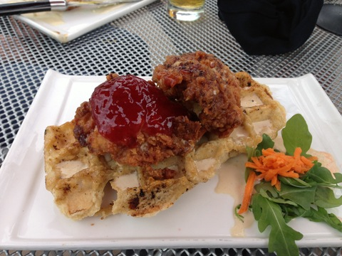Chautauqua- Ommegang Brewery Chicken and Waffle.jpg