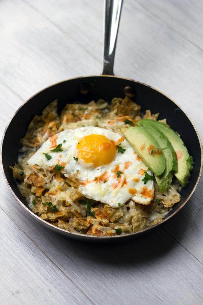 Chilaquiles Verde con Huevo 7