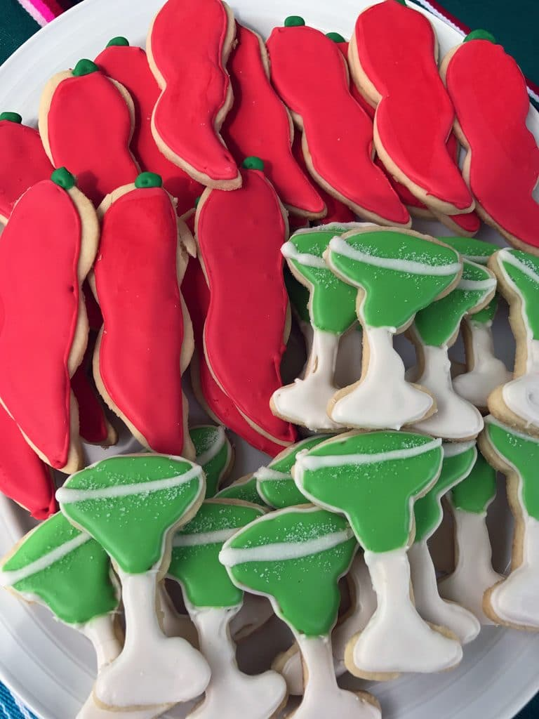 Dragons Love Tacos Birthday Party Sugar Cookies