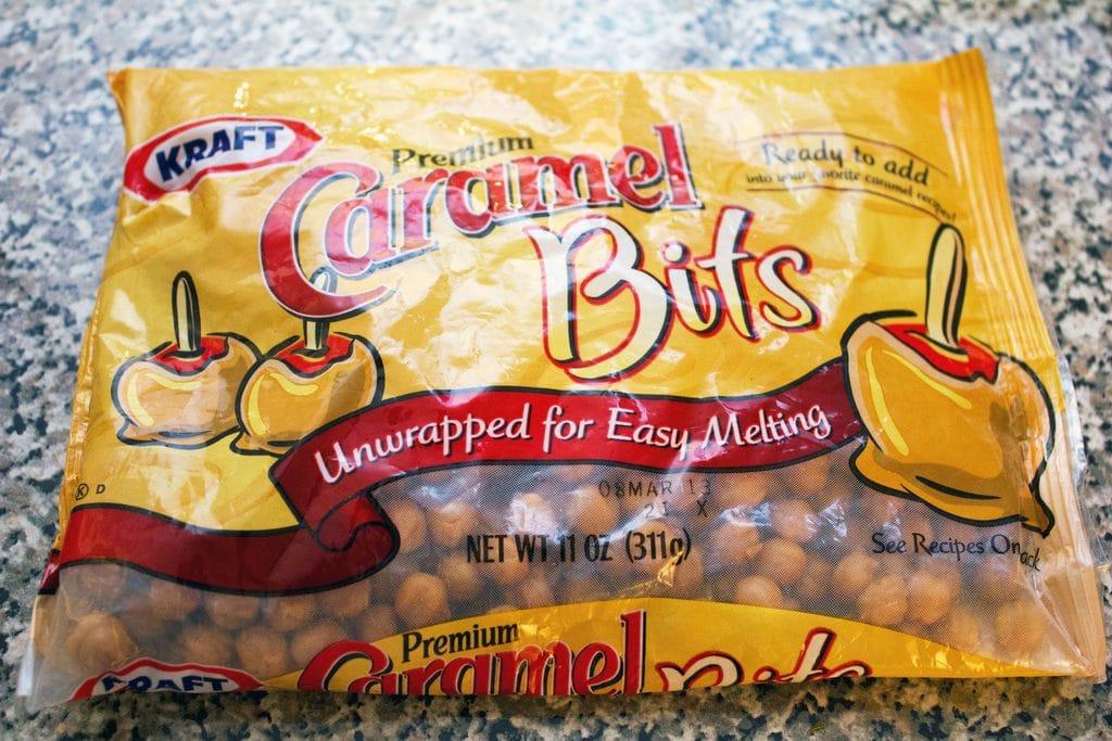 Bag of Kraft Caramel Bits