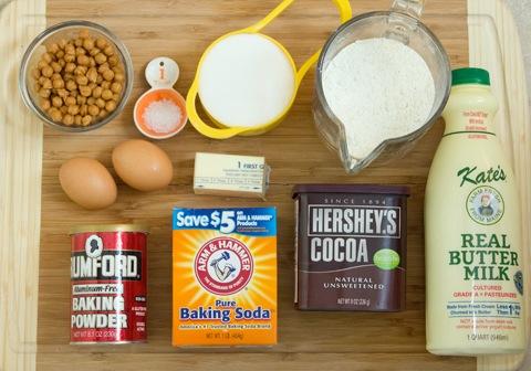 Chocolate Caramel Doughnuts Holes Ingredients.jpg