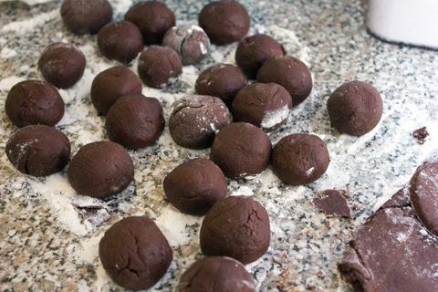 Chocolate Caramel Doughnuts Holes Rounds.jpg