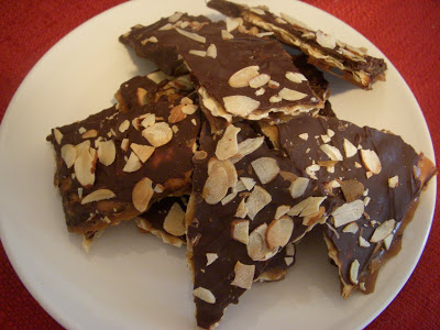 Chocolate-Covered Caramelized Matzo Crunch | We are not Martha