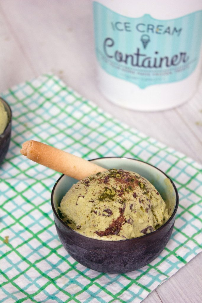 Matcha And White Chocolate Ice Cream Recipe — Dishmaps
