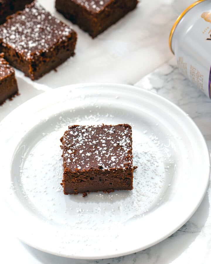 Looking for a ridiculously rich and fudgy brownie recipe? These Chocolate Stout Brownies are the most decadent brownies I've ever had!