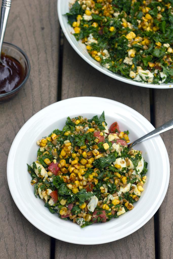 Chopped Kale and Farro Salad 14
