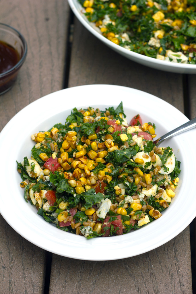 Chopped Kale and Farro Salad 15