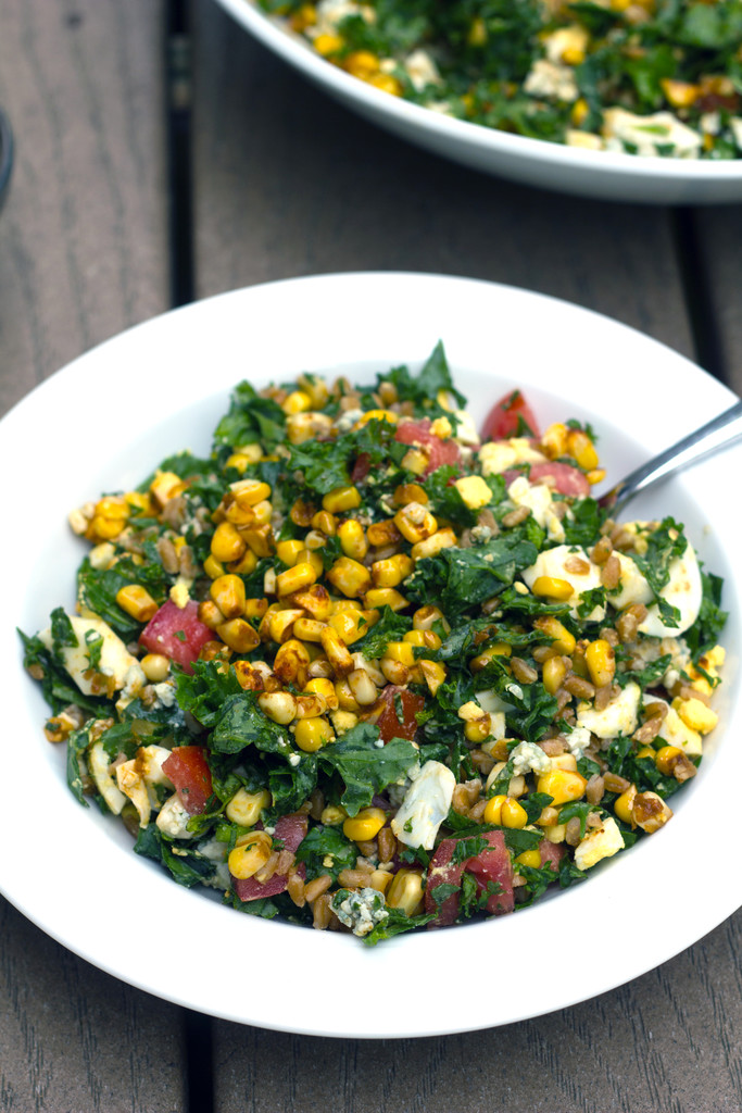 Chopped Kale and Farro Salad 16