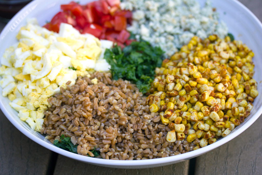 Chopped Kale and Farro Salad 2