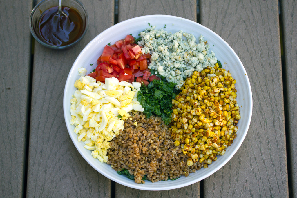 Chopped Kale and Farro Salad 3