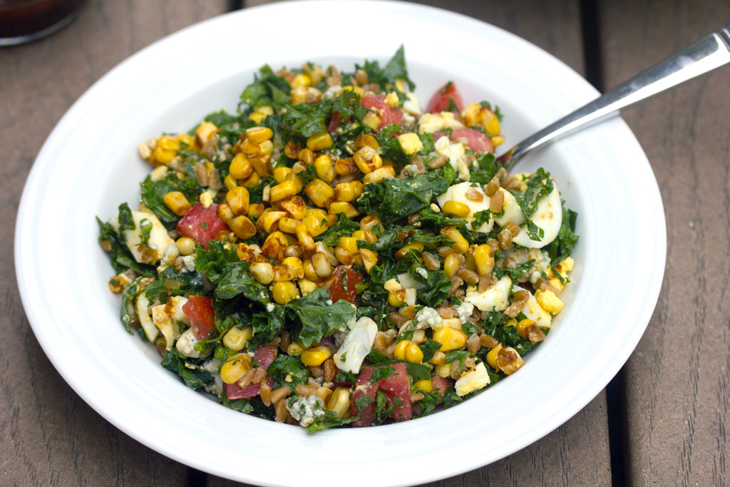 Chopped Kale and Farro Salad 6