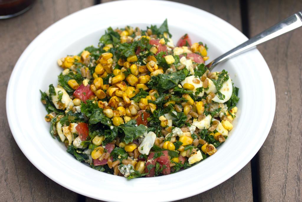 Chopped Kale and Farro Salad 6