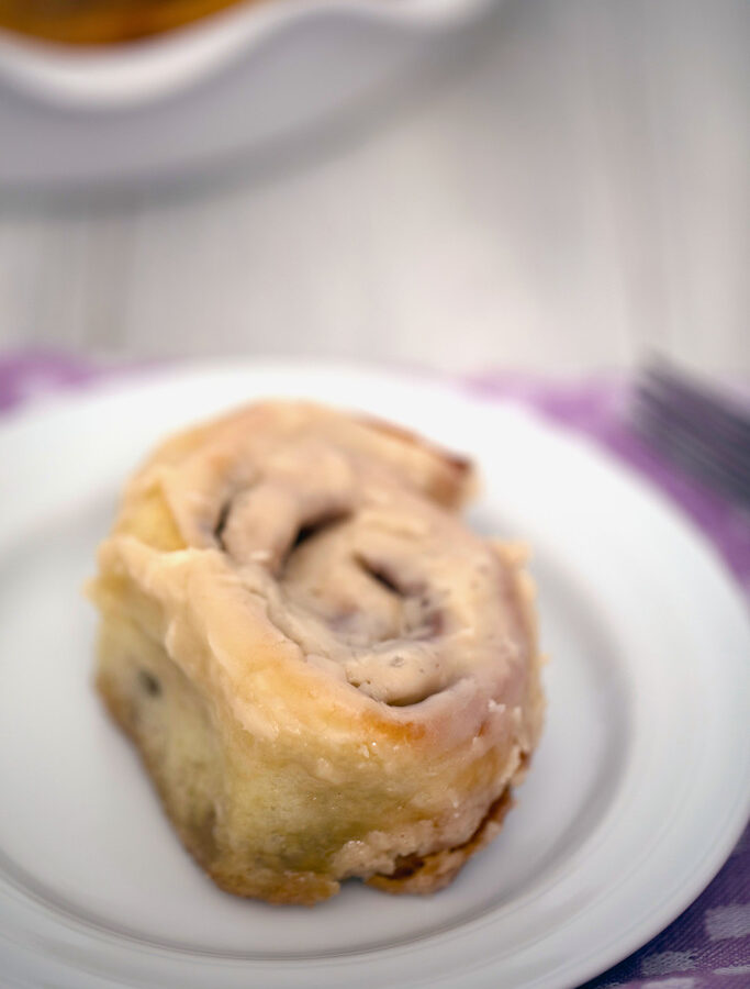 Cinnamon Rolls with Maple Icing: These classic cinnamon rolls will be the best you've ever had! Make them for a holiday celebration or to impress friends and family for an everyday brunch | wearenotmartha.com