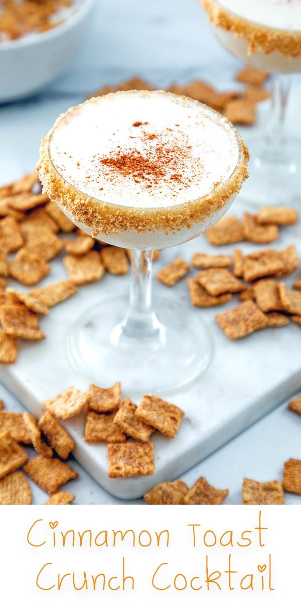 Cinnamon Toast Crunch Cocktail