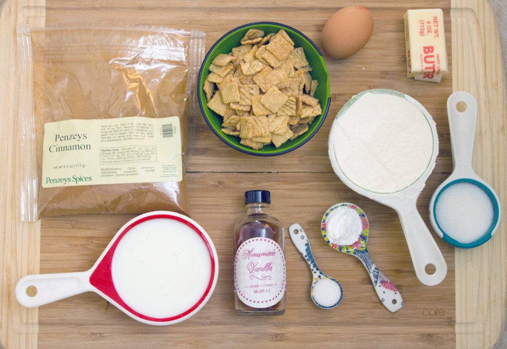 Cinnamon Toast Crunch Pancakes Ingredients | wearenotmartha.com