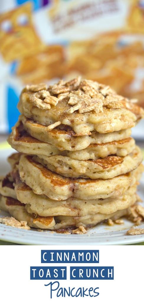 Cinnamon Toast Crunch Pancakes
