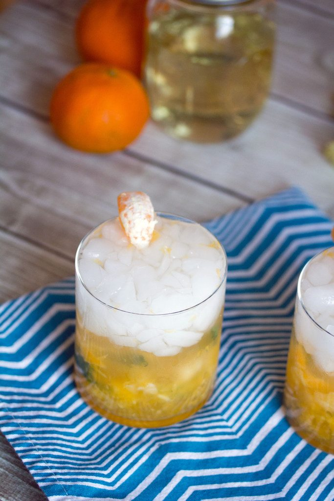 Clementine Ginger Cocktail -- Take advantage of winter citrus with this rum-based drink | wearenotmartha.com