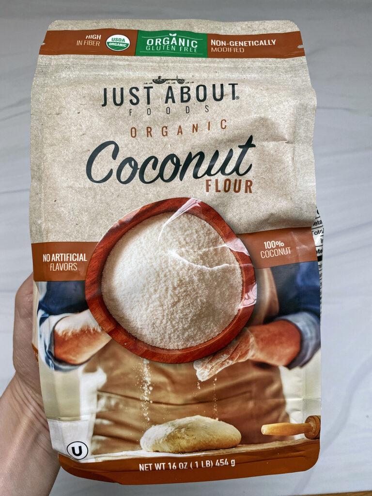 Bag of coconut flour