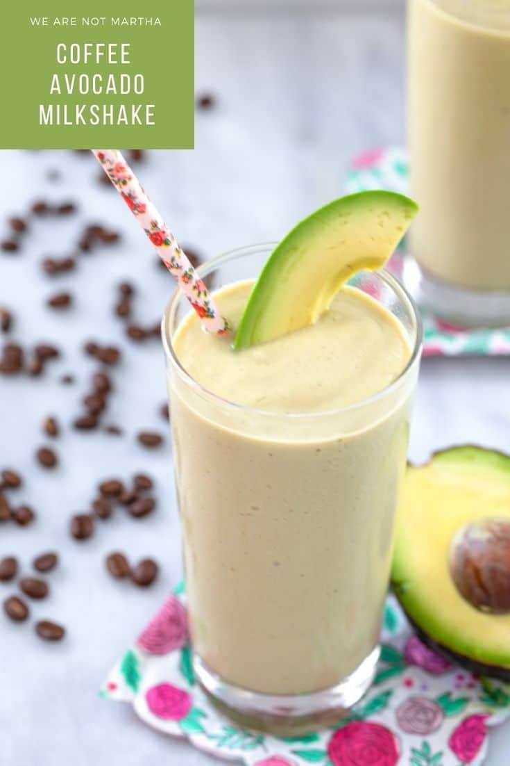 Coffee Avocado Milkshake