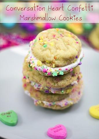 Conversation Heart Confetti Fluff Cookies.psd