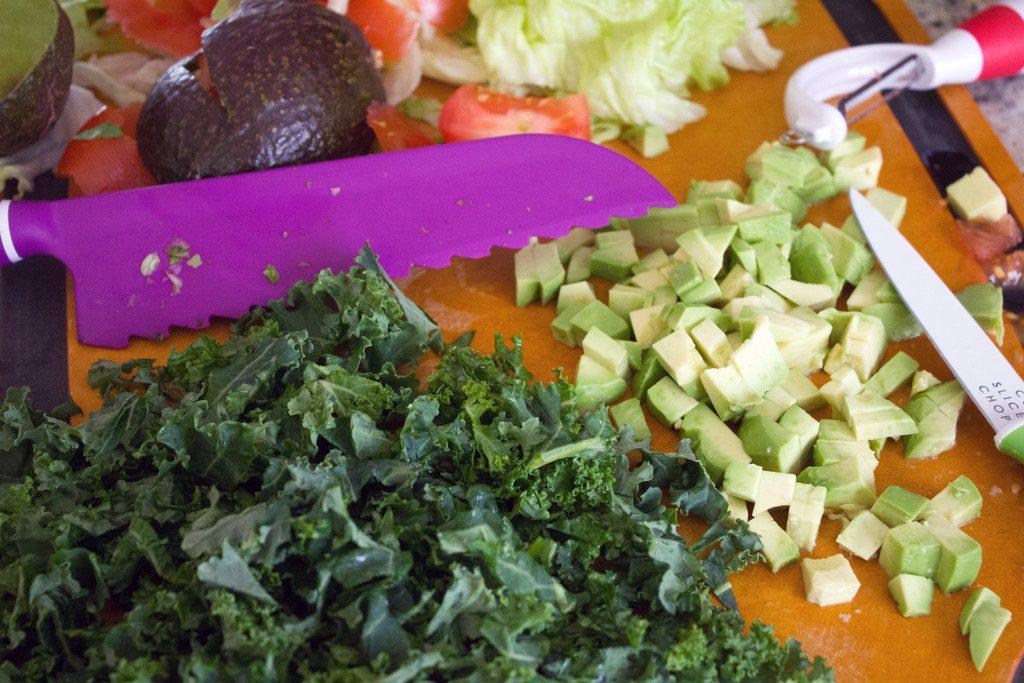 Crisp Cooking Tools and Veggies | wearenotmartha.com