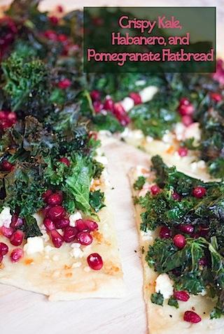 Crispy Kale, Habanero, and Pomegranate Flatbread.jpg