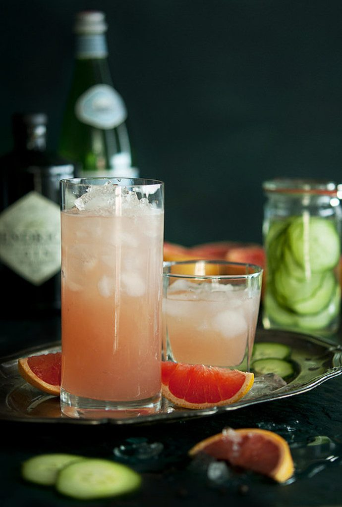 Cucumber-Infused-Gin-and-Black-Pepper-Grapefruit-Fizz