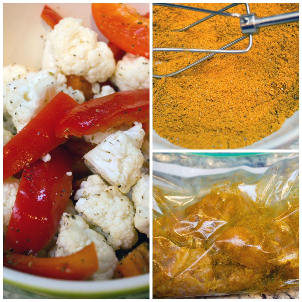 Curry-chicken-thigh-making