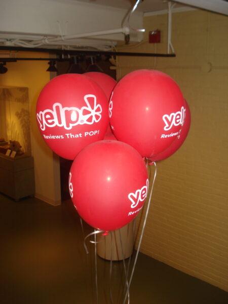 Yelp Balloons
