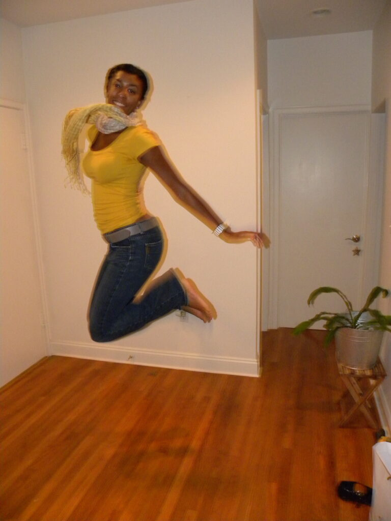 me jumping!