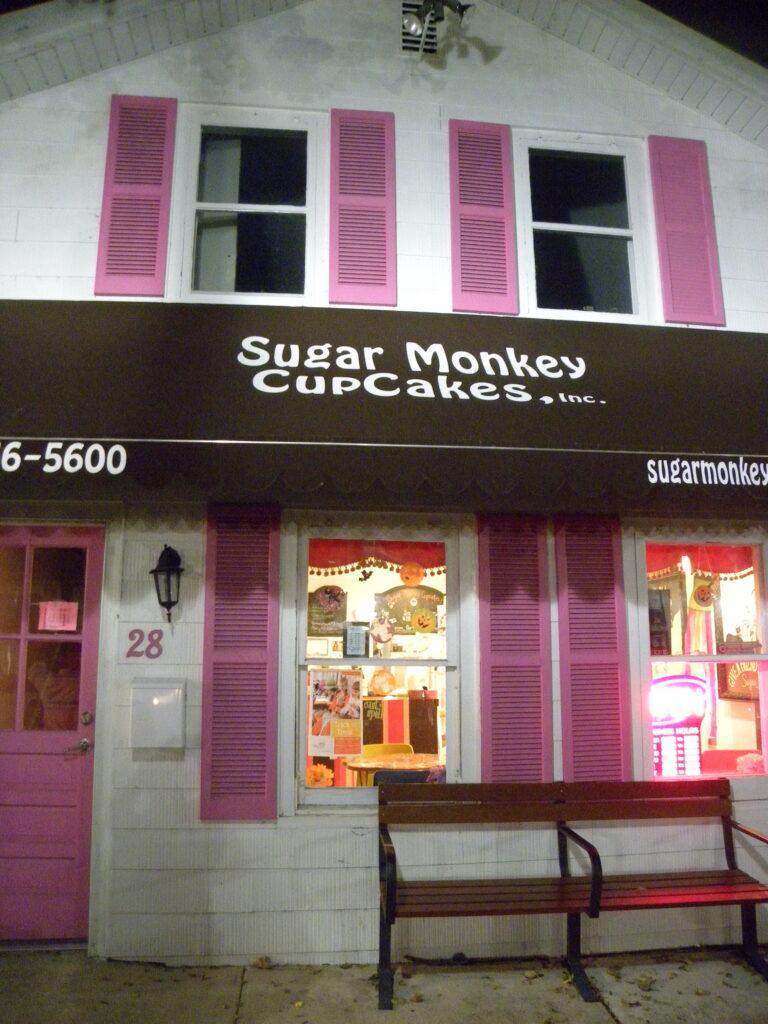 Sugar Monkey Cupcakes