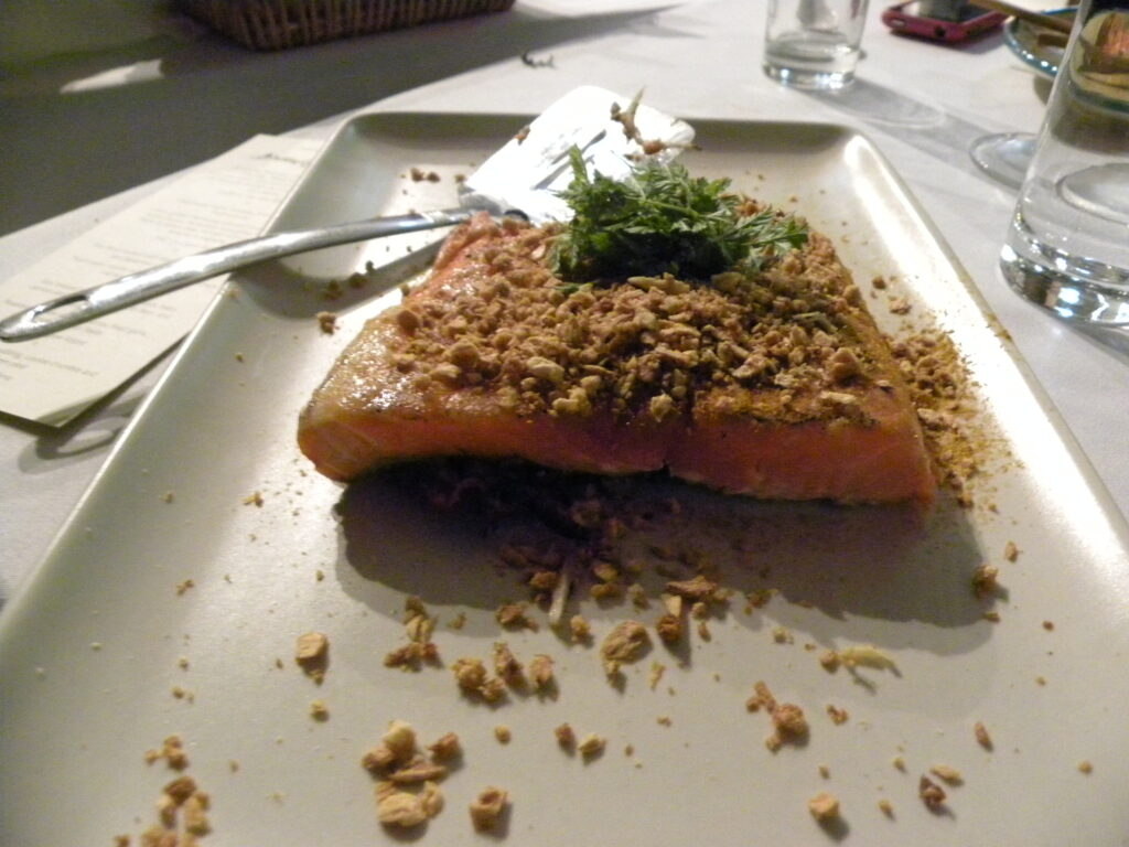 curry salmon